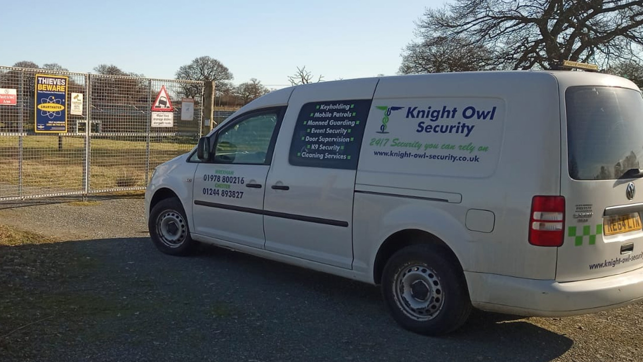 Knight Owl Security Van